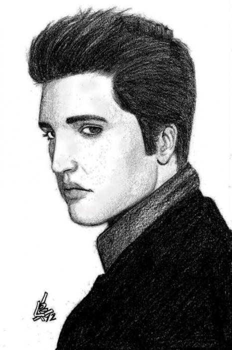 Elvis Presley by LucasLimaArts